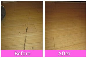 Floors Before and After